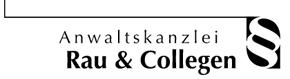Anwaltskanzlei Rau-Collegen